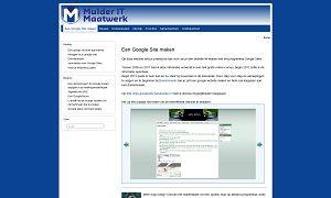naar naslagwerk Google Sites