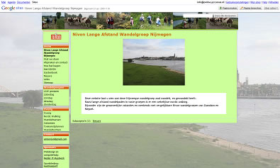 voorbeeld site met groot plaatje