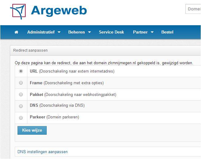 argeweb redirect