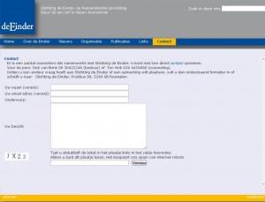 deze pagina bekijken op de website van st De Einder