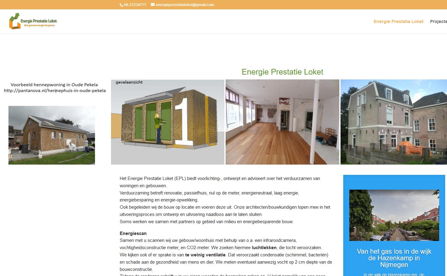 Beveiligd: Energie Prestatie Loket