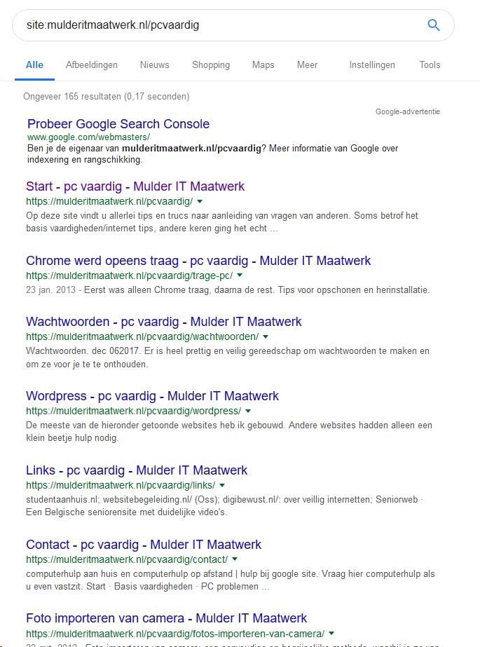 Zorg voor vindbaarheid (en uitsluiten van vindbaarheid) bij Google